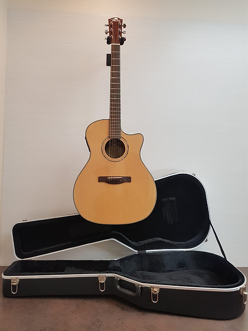 Fender GA43SCE NAT Acoustic Electric Guitar (E.X.+) with Hardcase