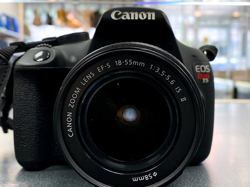 Canon Rebel T5 with 18-55mm Kit Lens