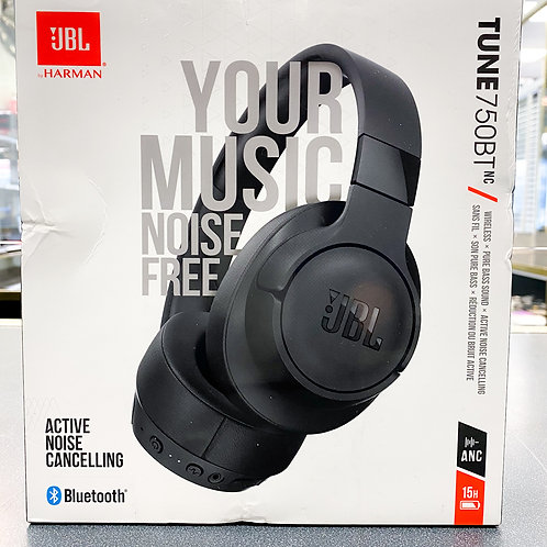 JBL Tune 750BTNC Wireless Over-Ear Noise Cancelling Headphones