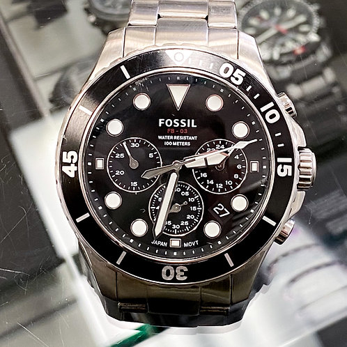 Fossil FB-03 Chronograph Stainless Steel Watch
