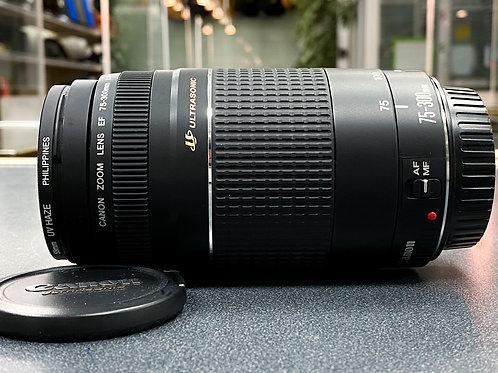 Canon EF 75-300mm 1:4-5.6 III USM Zoom Lens