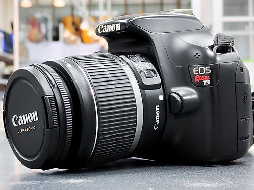 Canon EOS Rebel T3 DSLR Camera with EF-S 18-55mm f/3.5-5.6 IS Lens