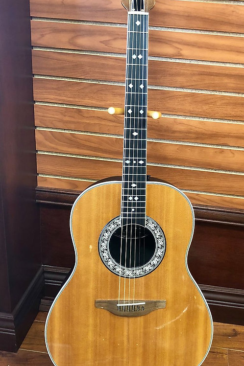 Vintage 1974 Ovation Model 1117-4 Legend Acoustic Guitar w/ OHSC (Good)