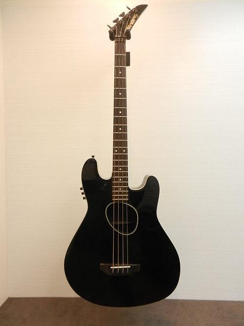 Kramer Ferrington Vintage 1987-88 KFS-2 Acoustic/Electric - Black with Hard Case