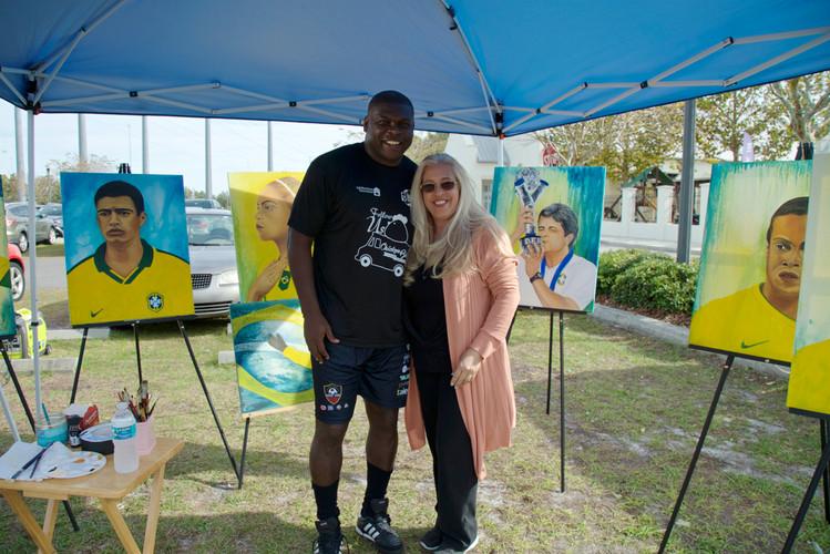 Ney Franco Soccer Academy exposition January 19th, 2018