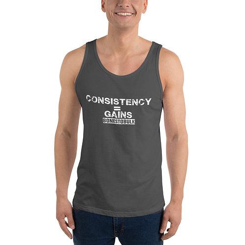 Consistency = Gains - Mens