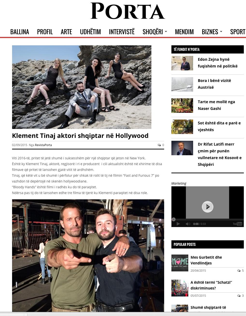 Klement Tinaj Press