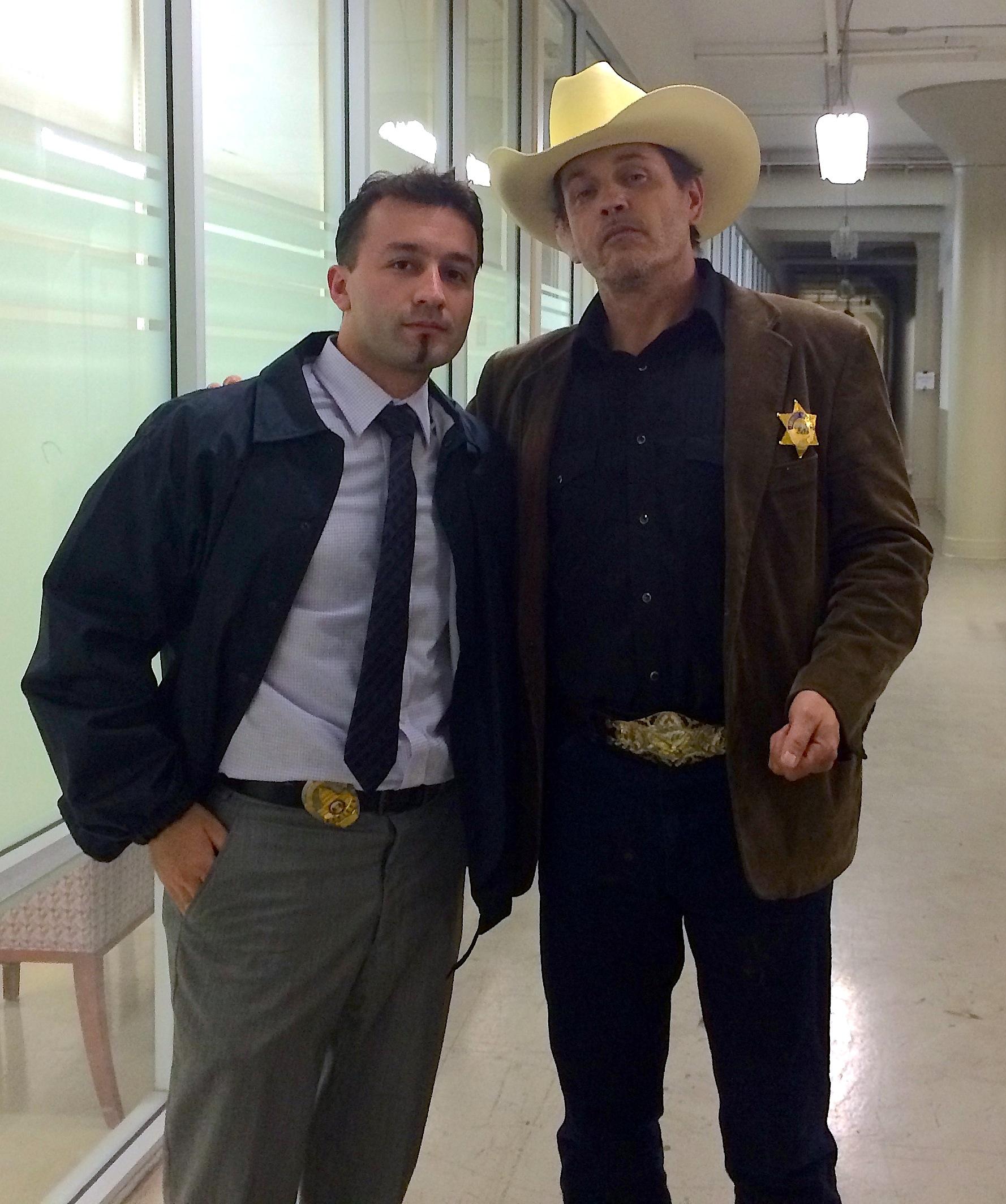 Klement Tinaj & Michael Pare