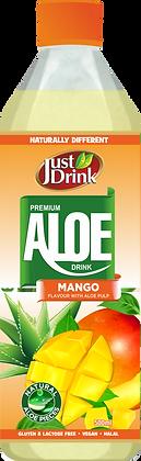 JUST DRINK ALOE MANGO 500ml (12 Pack)