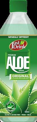 JUST DRINK ALOE ORIGINAL 500ml (12 pack)