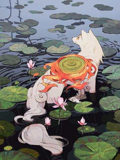 Amaterasu from Okami