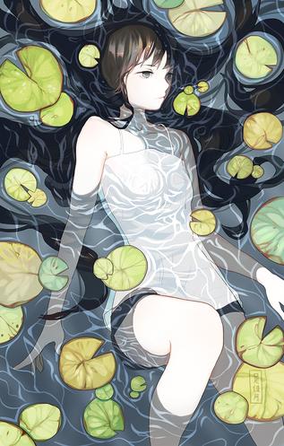 Aqualumina charity artbook piece.