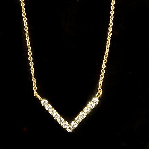 V-shape diamond