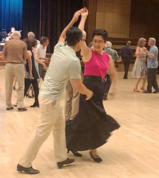 Tony Coe and Bertha Wong