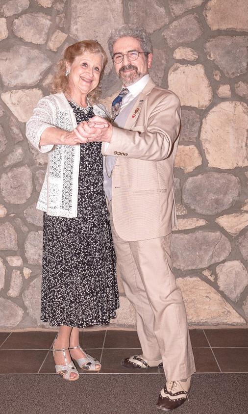 Sheryl Ruzek and Jim Griesemer