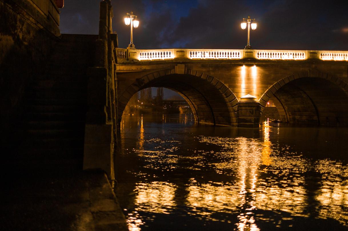 Worcester Bridge Lights