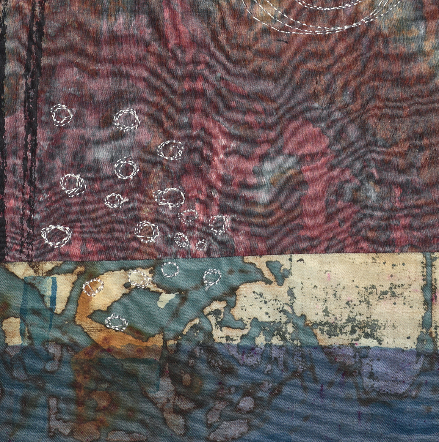 Small Work 11 detail  8x7 inches