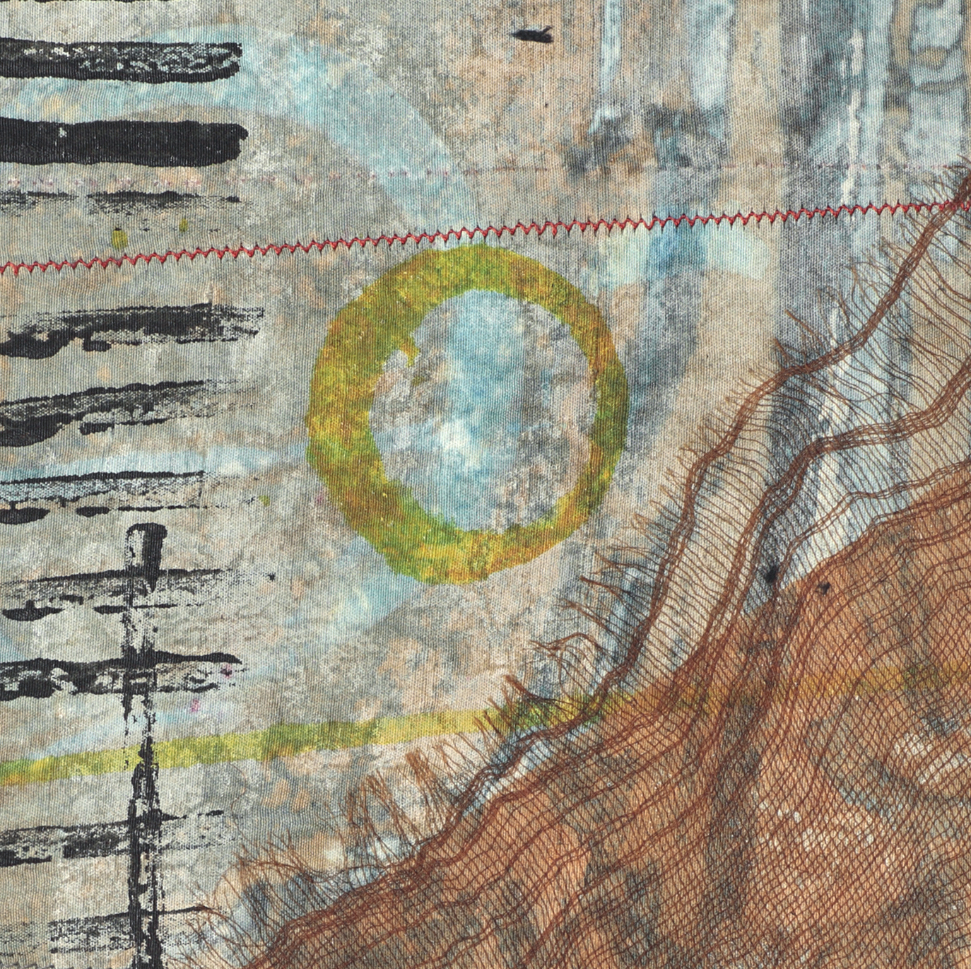 Small Work 8 detail  8x6 inches