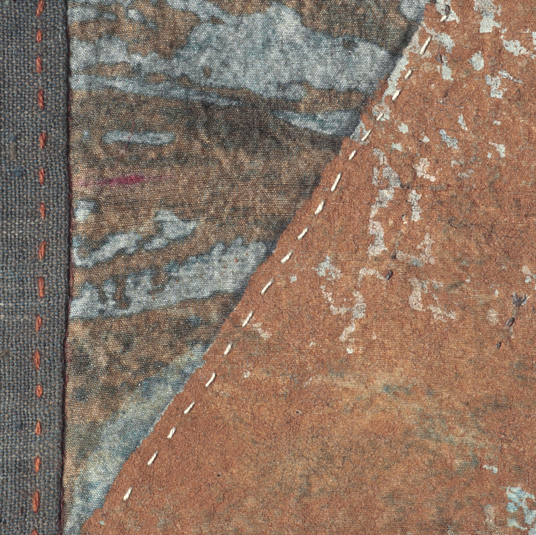Small Work 6 detail  4x10 inches