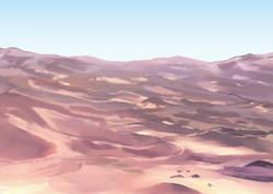 砂漠スケッチ