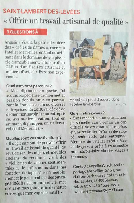 Ava Atelier création - Angélina Viault