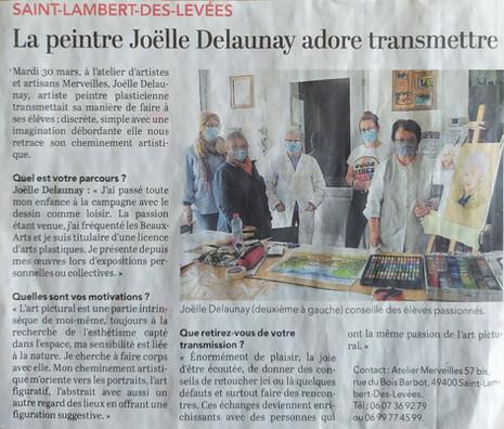 Joelle Delaunay - Dessin
