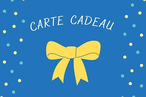 Carte Cadeau Stage DECOUVERTE - Fabrication de Meuble en Carton