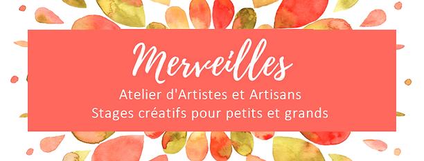 Atelier Merveilles Saumur, Atelier d'Artisans, Stages et cours créatifs