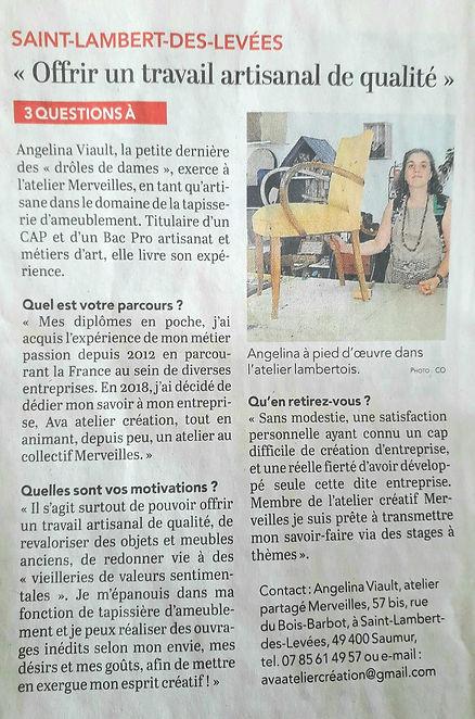 Ava Atelier création