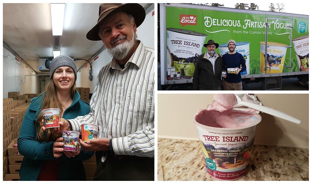 Visit to Tree Island Gourmet Yogurt
