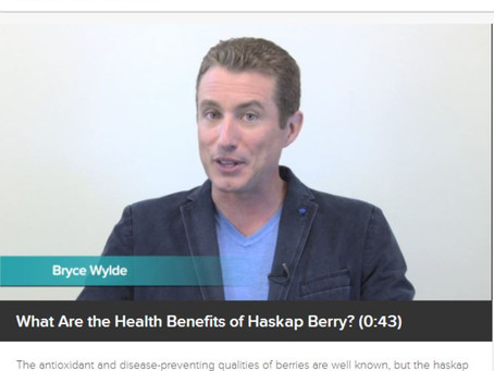 Bryce Wylde gives you the lowdown on Haskap