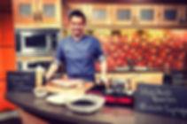 Chef Ned Bell cooks haskap on CBC