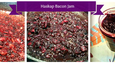 From our Home Test Kitchen: Haskap Bacon Jam