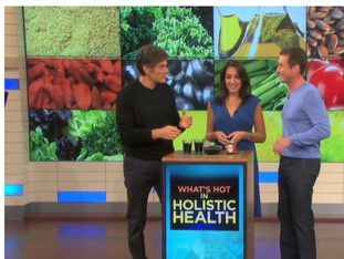 Haskap is introduced to Dr. Oz