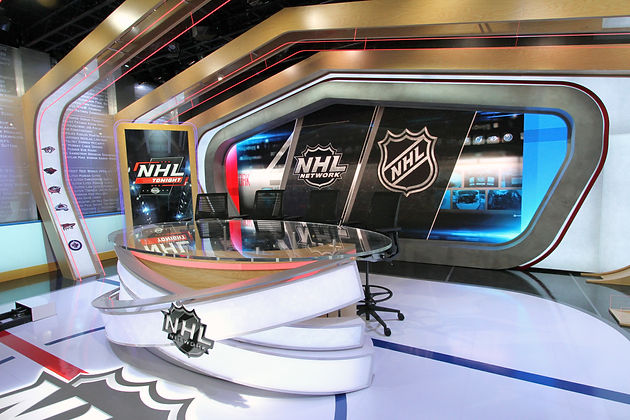 Nhl Network S New Studio The Rink Ready For Stanley Cup Playoffs