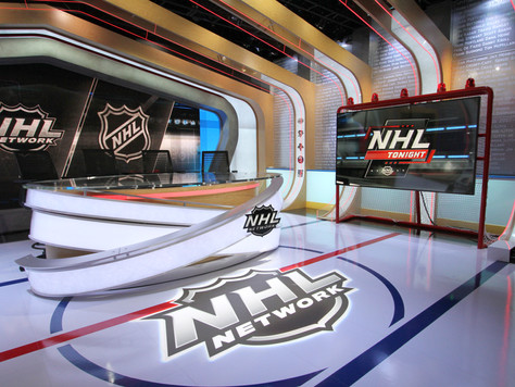 NHL Network unveils stunning new hockey studio, dubbed 'The Rink'