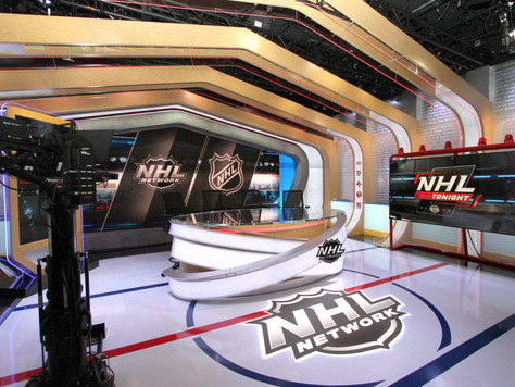 NHL Network debuts 'The Rink' studio