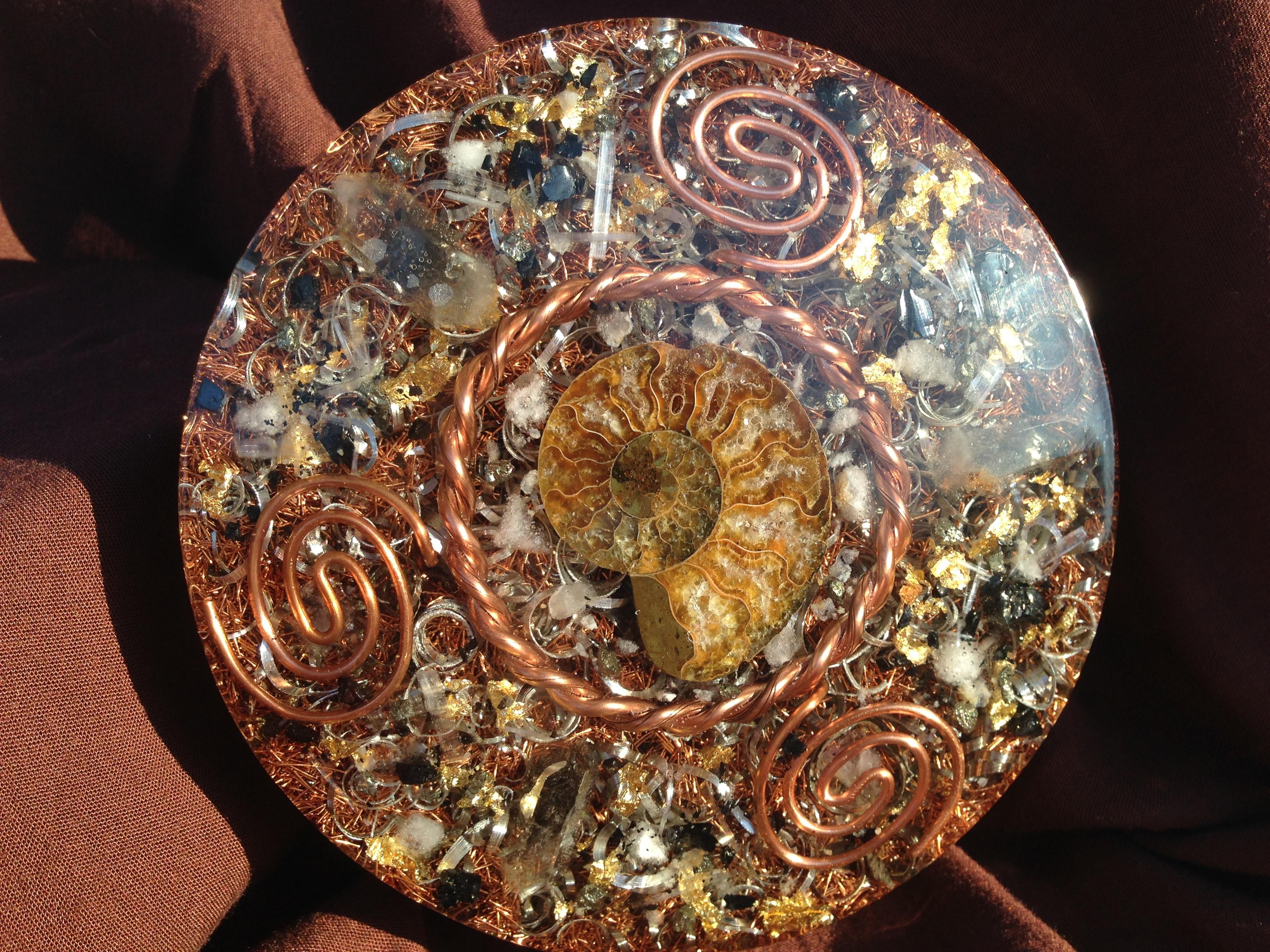 Ammonite Charging Plate
