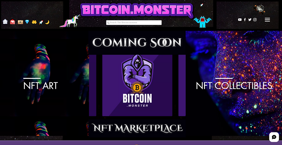 Bitcoin_monster_The_NFT_Marketplace_Comi