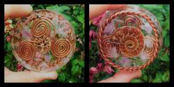 Ammonite with Treskelion and Tensor