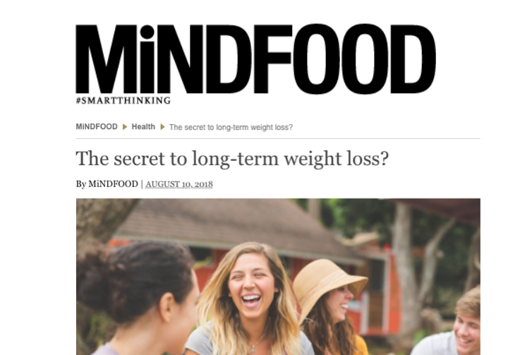 Mind Food Dr Gina Cleo Weight Loss Tips