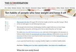 The Conversation Dr Gina Cleo Weight Los