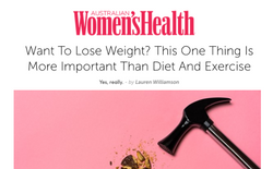 Womens Health Magazine Dr Gina Cleo Lose