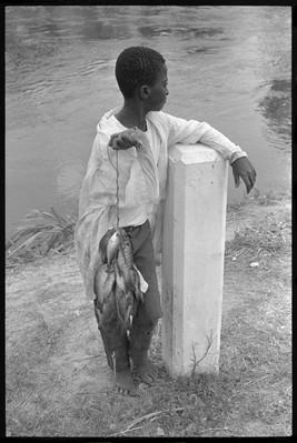 Boy With Fish