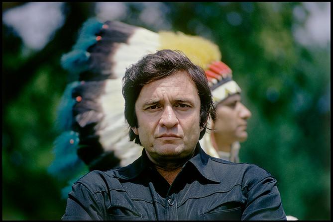 Johnny Cash Indian Head