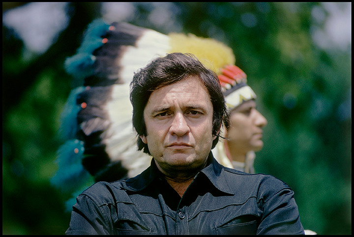 Johnny Cash Indian Head