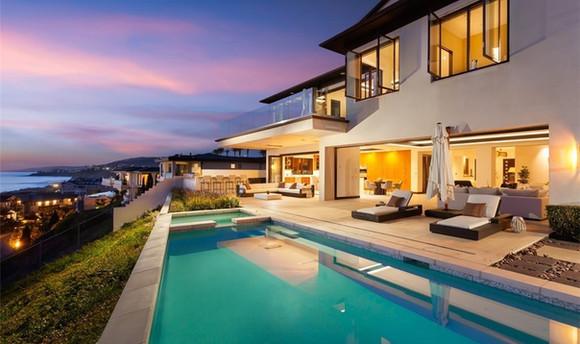 The Strand, Dana point. luxury coastal home staging
