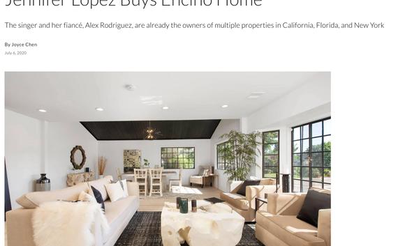 Jennifer Lopez buys Encino home.