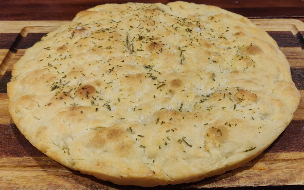 focaccia con le patate genovese pronta ricetta originale torte felici