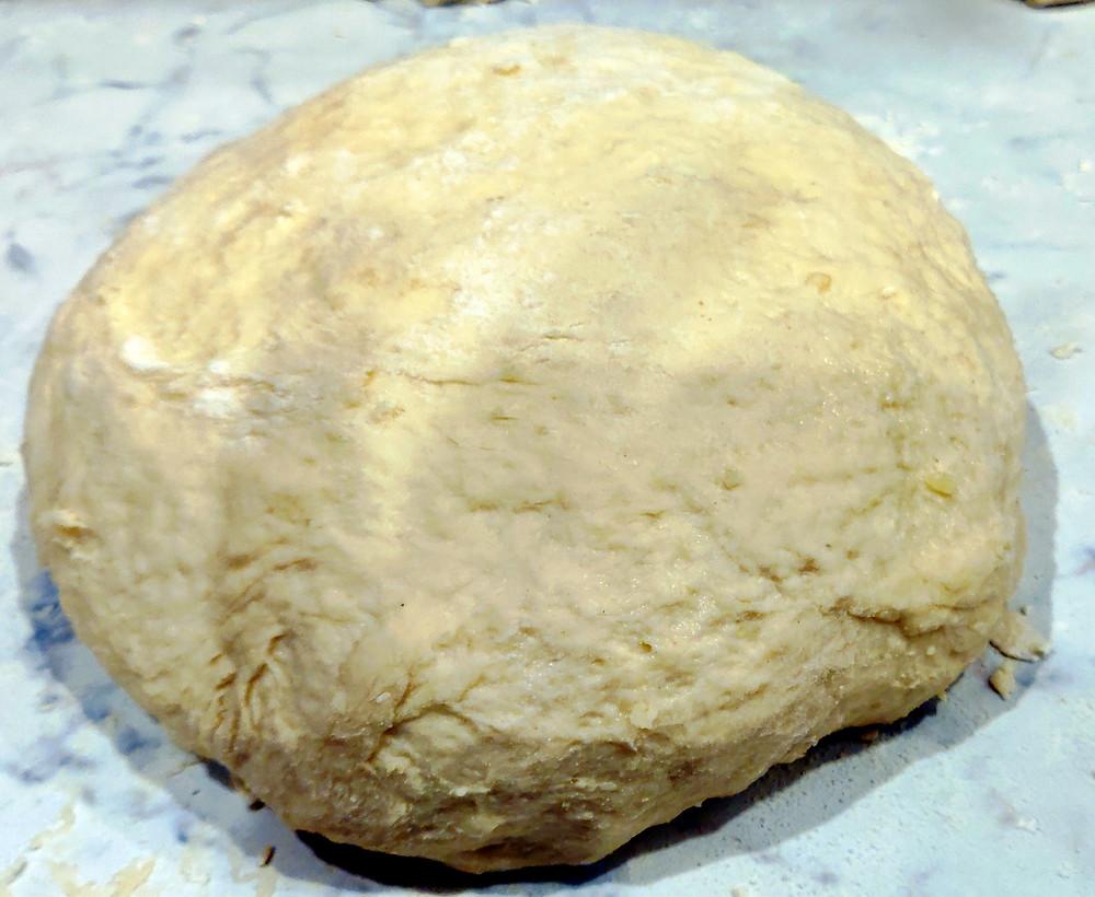 lievitazione focaccia con patate torte felici